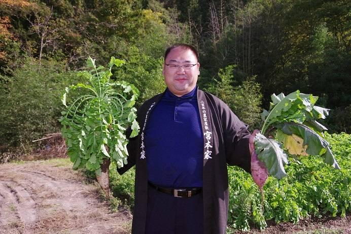 秋野菜が盛りだくさん!!