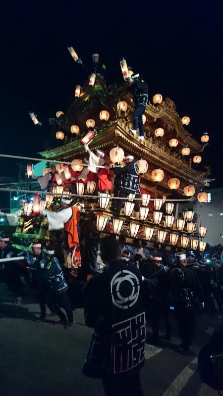 12月2日、3日秩父夜祭り
