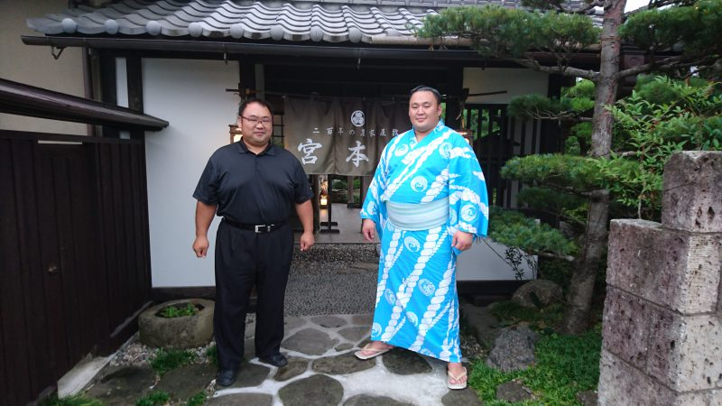 玉鷲関 幕内最高優勝!!
