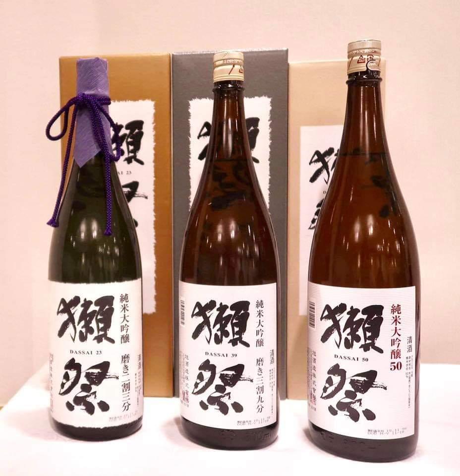 世界の日本酒 獺祭 入荷!!
