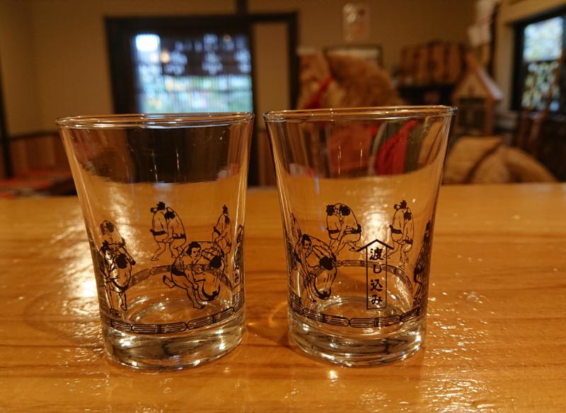 大好評!力士グラスで乾杯♪