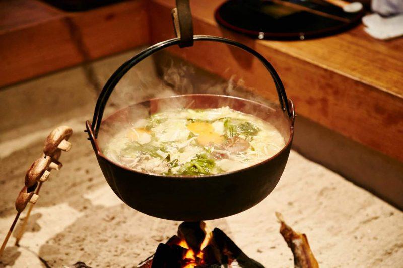 絶品新ちゃんこ鍋で濃くまろ風味♪